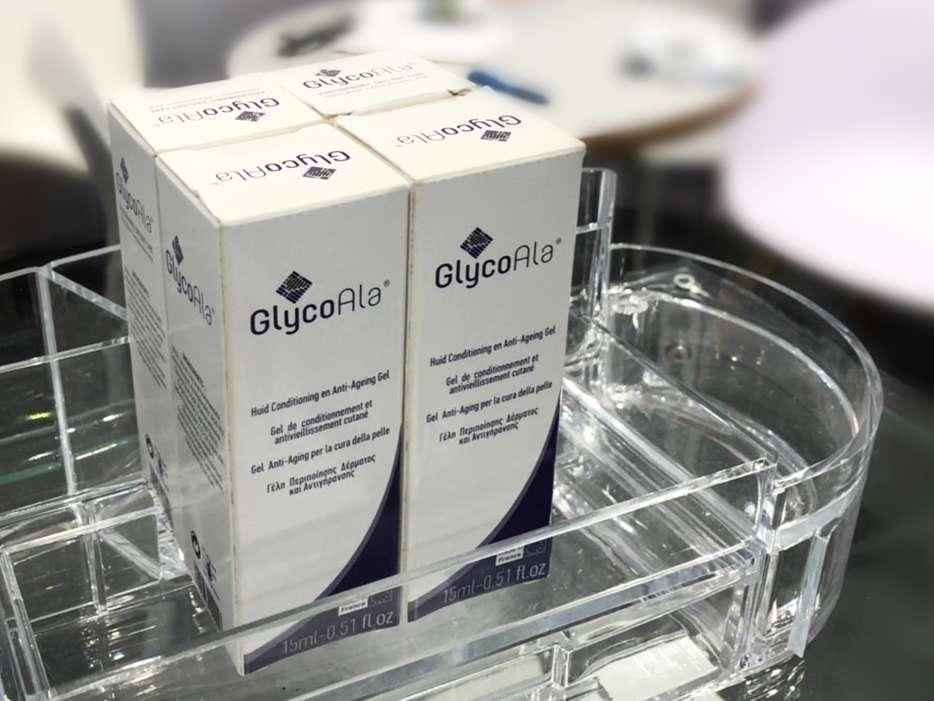 GlycoAla®是美國FDA唯一核可具有保養品效果的液態光感賦活凝膠對於皮膚的刺激相對較低